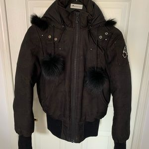 Camouflage Moose Knuckle Bomber | AUTHENTIC